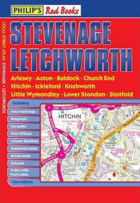 Philip's Red Books Stevenage and Letchworth