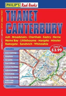 Philip's Red Books Thanet and Canterbury