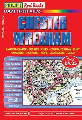 Philip's Red Books Chester and Wrexham