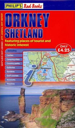 Philip's Red Books Orkney and Shetland