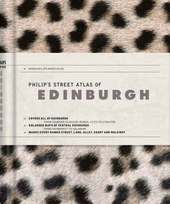Philip's Street Atlas of Edinburgh