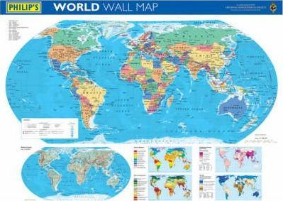 Philip's World Wall Map