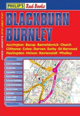 Philip's Red Books Blackburn and Burnley