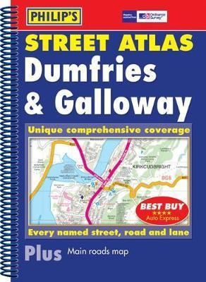 Philip's Street Atlas Dumfries and Galloway