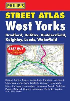 Philip's Street Atlas West Yorkshire