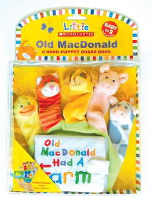 Old MacDonald Farmer Hand Puppet  Brand New with Tags