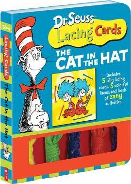 Dr. Seuss Lacing Cards: The Cat in the Hat