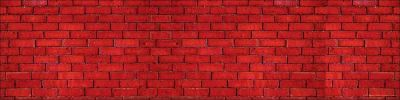 Red Bricks Jumbo Borders