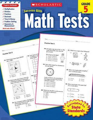 Math Tests, Grade 5 Cover Image