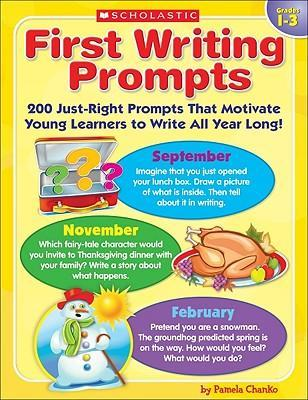 First Writing Prompts: Grades 1-3