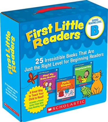 First Little Readers: Guided Reading Level B : 25 Irresistible Books That Are Just the Right Level for Beginning Readers
