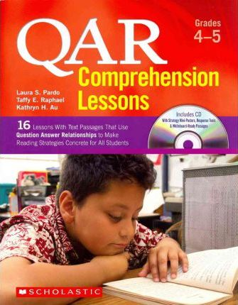 Qar Comprehension Lessons: Grades 4-5