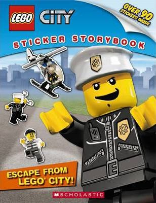 Lego City Sticker Storybook: Escape from Lego City