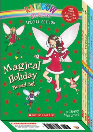 Magical Holiday Boxed Set (Rainbow Magic) : (includes Four Sparkly Special Editions!)