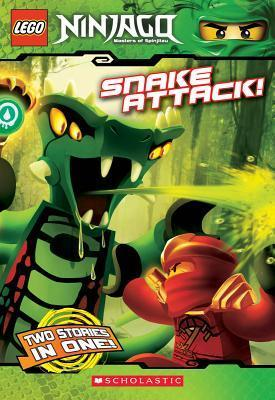 Snake Attack! (Lego Ninjago: Chapter Book) : Tracey West : 9780545465182