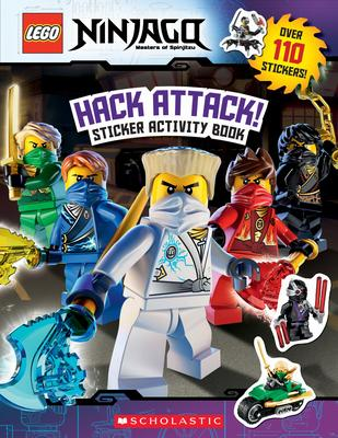 Hack Attack!: Sticker Activity Book (Lego Ninjago)