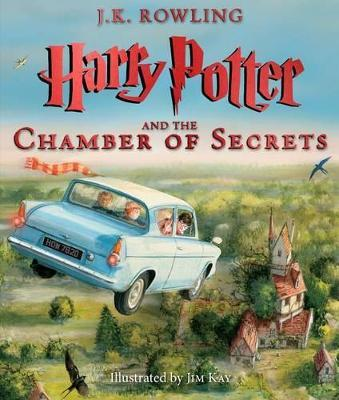 Harry Potter and the Chamber of Secrets: The Illustrated Edition (Harry Potter, Book 2), Volume 2 Cover Image