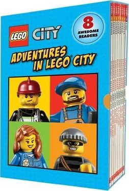 LEGO City: Adventures in LEGO City Boxed Set (2nd Edition) by Scholastic