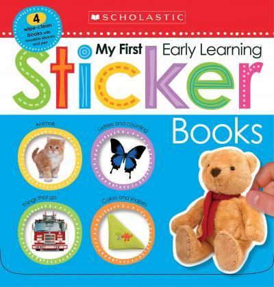 My First Early Learning Sticker Books Box Set Scholastic Early
