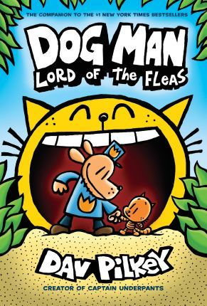 Dog Man 5: Lord of the Fleas Cover Image