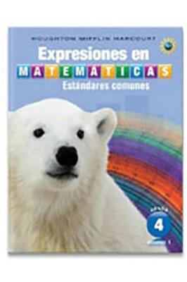 Houghton Mifflin Harcourt Spanish Math Expressions  Student Activity Book Collection (Hardcover) Grade 4 2013