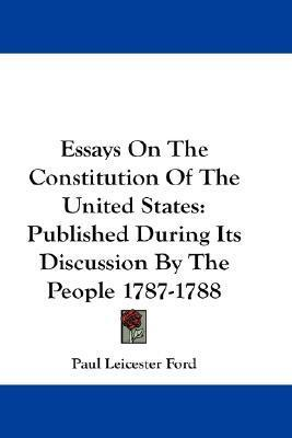 Learn English Essay Essays On The Constitution Of The United States Business Strategy Essay also English Class Essay Essays On The Constitution Of The United States  Paul Leicester  Sample Essay Topics For High School