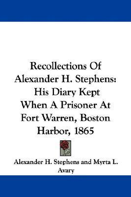 Image result for (Recollections of Alexander H. Stephens, Myrta L. Avary