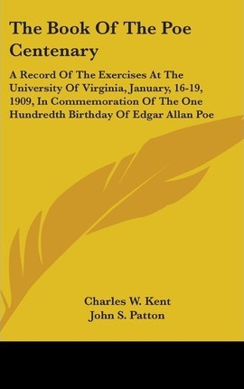 The Book of the Poe Centenary