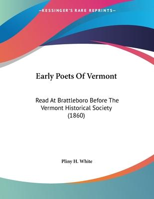 Early Poets of Vermont