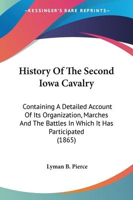 History Of The Second Iowa Cavalry Cover Image