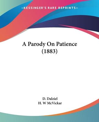 A Parody On Patience (1883) Cover Image