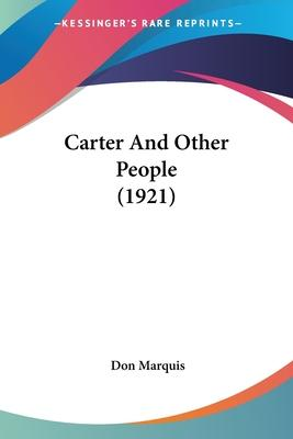 Carter and Other People (1921)