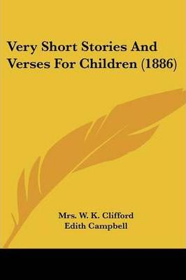 Very Short Stories and Verses for Children (1886)