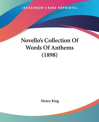 Novello's Collection of Words of Anthems (1898)