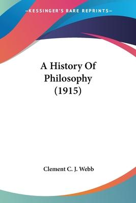 A History of Philosophy (1915)