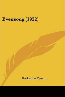 Evensong (1922) Cover Image