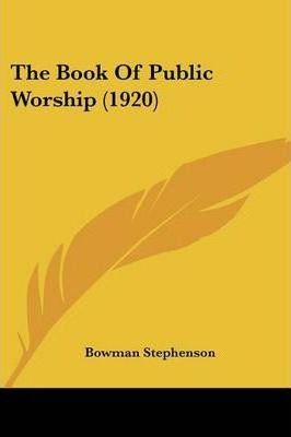 The Book of Public Worship (1920)