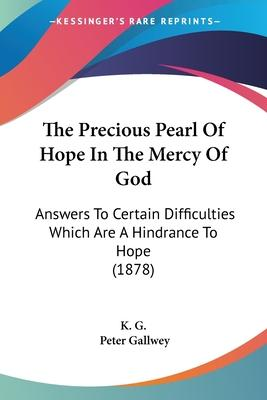 The Precious Pearl of Hope in the Mercy of God