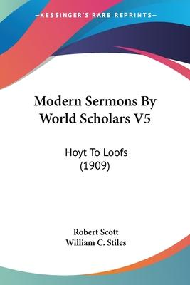 Modern Sermons by World Scholars V5