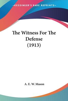 The Witness For The Defense (1913) Cover Image