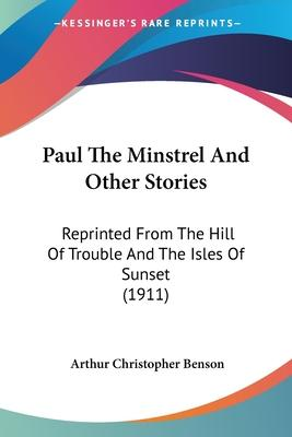 Paul The Minstrel And Other Stories Cover Image