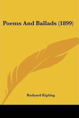 Poems and Ballads (1899)