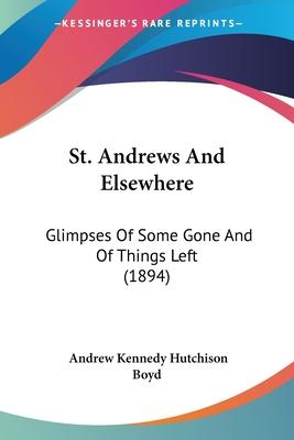 St. Andrews and Elsewhere