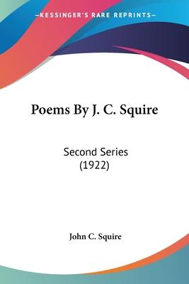 Poems by J. C. Squire