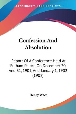 Confession and Absolution