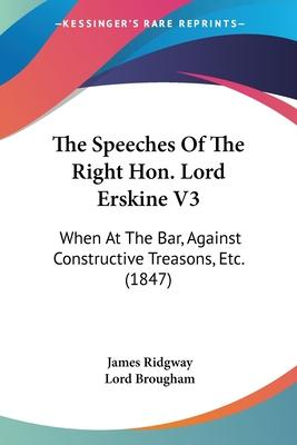The Speeches of the Right Hon. Lord Erskine V3