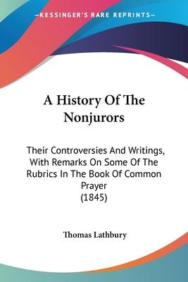 A History of the Nonjurors