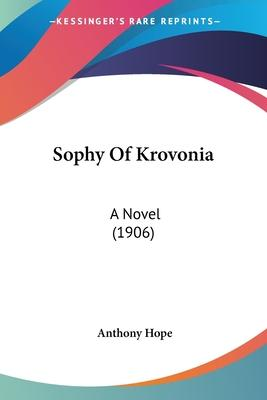 Sophy Of Krovonia Cover Image