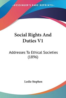 Social Rights and Duties V1