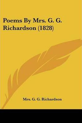 Poems by Mrs. G. G. Richardson (1828)